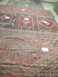brown and red floral area rug Toronto, M2H 2X3