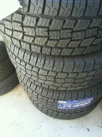 4 New tires..255/70/15 AT . INSTALADAS  Palmdale, 93550