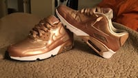 Rose Gold Air Max 90.......Size:6Y Houston, 77063