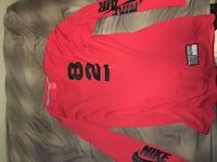 red Nike long sleeve shirt Imperial Beach, 91932