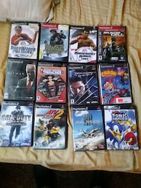 Ps2 with games an three controllers Bakersfield, 93305