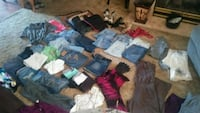 assorted color of clothes lot Highland, 46322