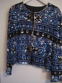 Moving Sale - Sequenced lined Jacket - great for special occassions - Size M=>L TORONTO