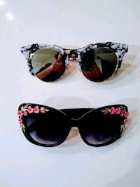 2 Pairs of Fashion Sunglasees, Both Included  New York, 11249