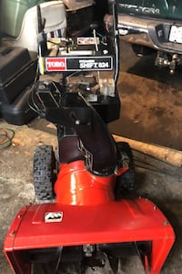 Toro snow blower 8/24 power shift runs mint need nothing &$ going up next month Lowell, 01854