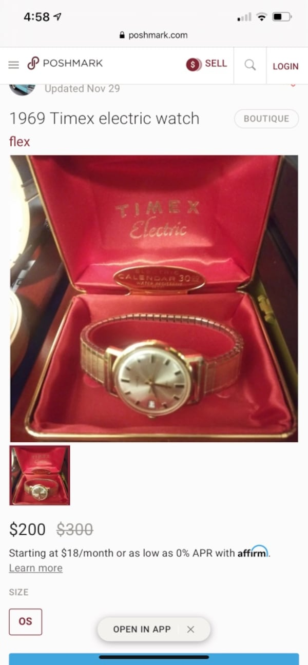 1969 Timex Electric watch c10c7bed-9452-4752-ba51-5d67bd878aee