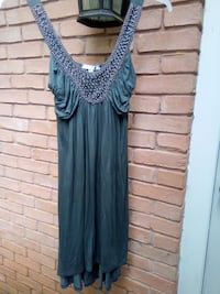 Soprano size m pewter grey dress Madison, 39110