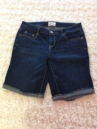 Like New- Ladies Aeropostale Jean Shorts. Size 9/10 $5 Trenton, K8V 2X8