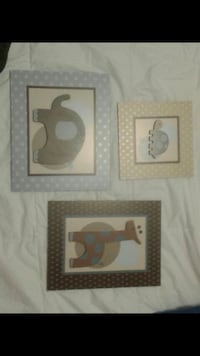 two brown wooden framed wall decors Brampton, L6R 0R3