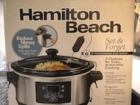 Hamilton Beach slow cooker box Garden Grove, 92841