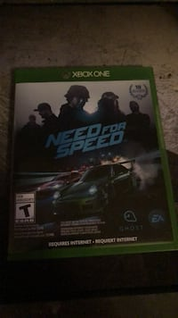 Need for Speed Xbox One game case Middletown, 21769