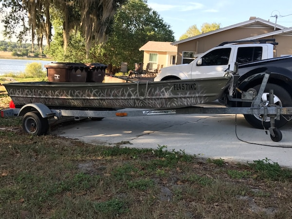 Duck Hunting Boats For Sale >> Used Duck Hunting Boat For Sale In Lake Wales Letgo