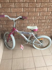 toddler's pink and white bicycle Richmond Hill, L4B 2Z9