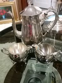 Vintage, silver plated tea/ coffee set Laval, H7G 2W7