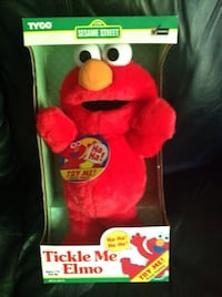 Original Tickle Me Elmo (1996) Mint in Box & Working  541 km