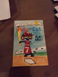 I Can Read! Pete the Cat book