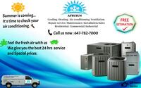 24 Hrs AirCondition and Furnace Repair Services Toronto, M3B 2R2