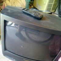 black CRT TV with remote Florence, 85132