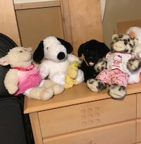 Assorted build a bear dolls Laval, H7L 0A6