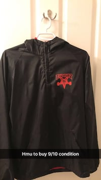 thrasher goat pentagram coach jacket Maple Ridge, V4R