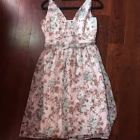 Silky floral summer dress size large