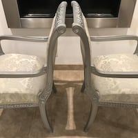 20 years later chairs.  Upholstered & still perfect. Palm Springs, 92262