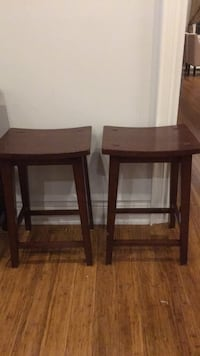 Bar stools 2 feet tall (2 pieces) Toronto, M9B 4L2