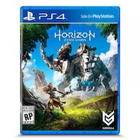 Caso de juego Horizon Zero Dawn PS4
