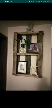 brown wooden framed wall mirror Bothell, 98012