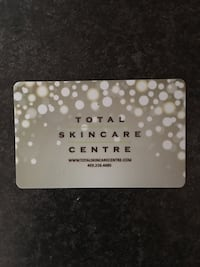 Gift Card $50 Skin Care Centre Calgary, T2Z 0Y1