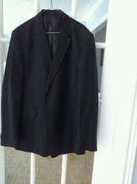 black notched lapel suit jacket Mississauga, L5R