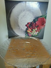 """MIKASA"" Crystal Platter 14 inches  Mississauga, L5N 3M4"