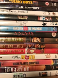 500 DVDs for Sale Choctaw
