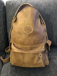 Roots leather backpack  Toronto