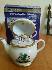 Teapot MusicBox Barre, 01005