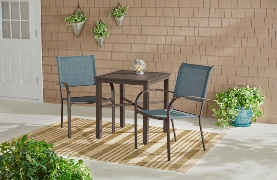 Hampton Bay  Stackable Split Back Sling Outdoor Patio Dining Chair be5648ce-04f1-48c6-8e00-05b7781e0739