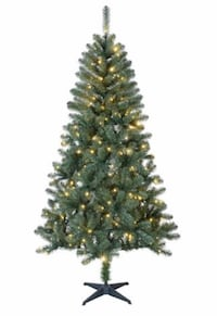 Holiday Time 7.5 ft Pre-Lit Sonoma Pine Christmas Tree - Green Windsor, N8T 1N9