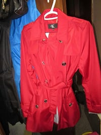 red Calvin Klein pea coat Red Deer, T4N 5R2