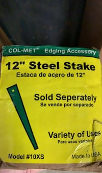 40 Landscape edging 12 inch steel stake Springfield, 22153