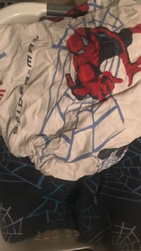 Twin Spider-Man Sheet Set with Comforter.