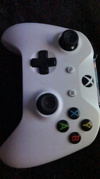 white and black Xbox One controller New York, 11692