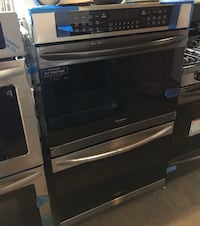 New double wall oven electric 30in/6 months warranty  Baltimore, 21215