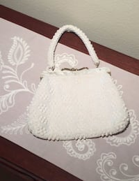 Vintage Ivory Beaded Purse  Herndon, 20171
