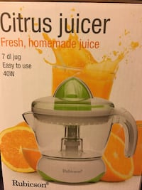 Citrus Juicer and Vegetable Chopper - 60 NKR Oslo, 0368