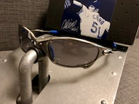 Oakley X-Metal Ichiro Slate with blue rubbers (looks new in box) Burnaby, V5G 1H1
