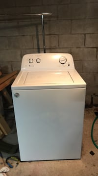 white top-load clothes washer Plaistow, 03865