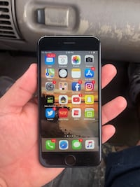 Space gray iphone 6 with black case Waco, 76704