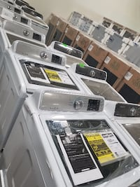 clothes washer lot