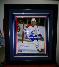 Montreal Canadiens Rejean Houle 8x10 autographed m Montreal, H8T 2Y3