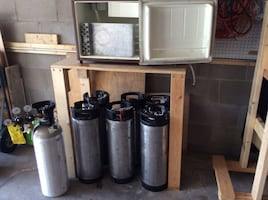 Brewers CO2 and miscellaneous equipment